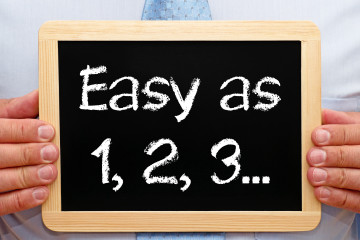 Easy as 1, 2, 3 ...