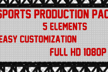 Sports Production Pack